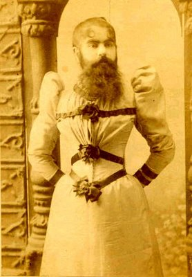 Annie Jones-Bearded Lady8